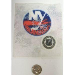 "NHL New York Islanders 2011 2.5"" Felt IronOn Patch"